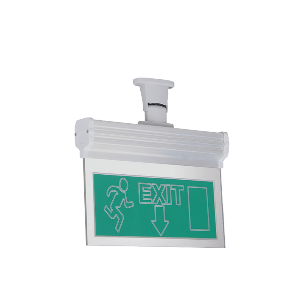 Surface Mounted Vialed Emergency Exit Luminaire
