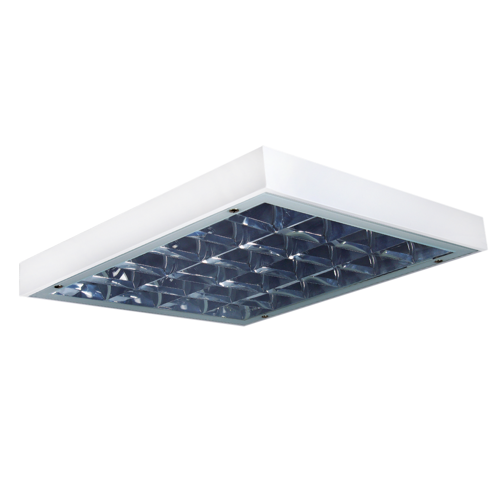 IP65 Tempered Glass Parabolic Luminaires