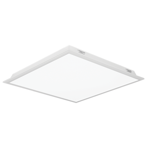 Isoled Backlight Panel Metal Suspended Luminaires