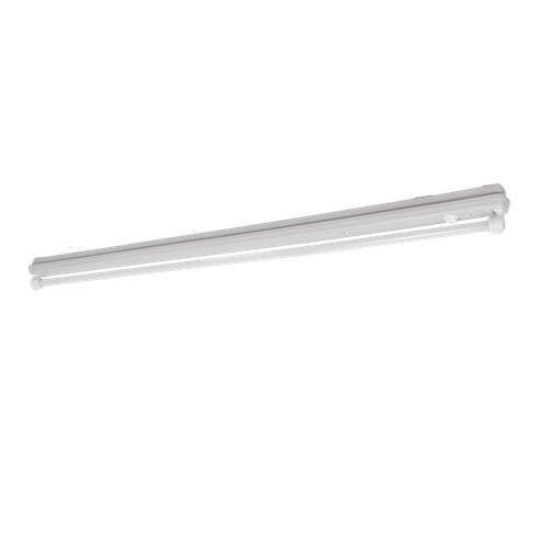 T8 Fiberglass Luminaires with IP65 Lampholders