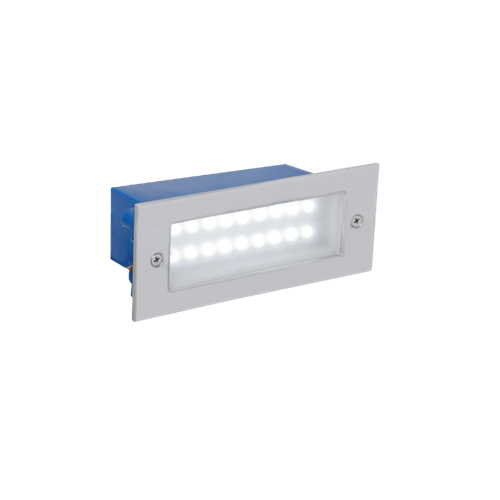 Leraled Recessed Wall Applique Luminaire