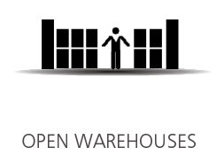 OPEN WAREHOUSES
